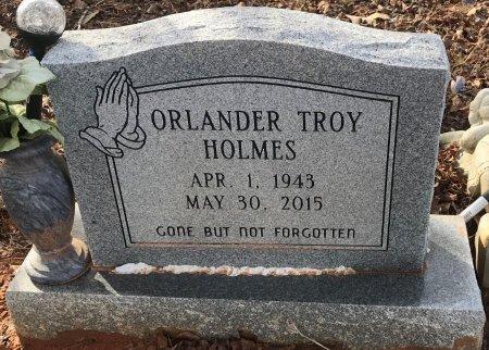 HOLMES, ORLANDER TROY - Miller County, Arkansas | ORLANDER TROY HOLMES - Arkansas Gravestone Photos