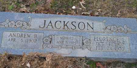 JACKSON, ANDREW B - Miller County, Arkansas | ANDREW B JACKSON - Arkansas Gravestone Photos