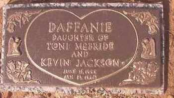 JACKSON, DAFFANIE - Miller County, Arkansas   DAFFANIE JACKSON - Arkansas Gravestone Photos