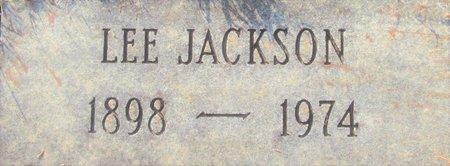 JACKSON, LEE (CLOSE UP) - Miller County, Arkansas | LEE (CLOSE UP) JACKSON - Arkansas Gravestone Photos