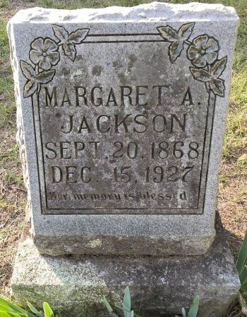JACKSON, MARGARET - Miller County, Arkansas | MARGARET JACKSON - Arkansas Gravestone Photos