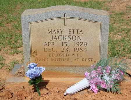 JACKSON, MARY ETTA - Miller County, Arkansas   MARY ETTA JACKSON - Arkansas Gravestone Photos