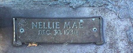 JACKSON, NELLIE MAE (CLOSE UP) - Miller County, Arkansas   NELLIE MAE (CLOSE UP) JACKSON - Arkansas Gravestone Photos