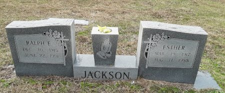 JACKSON, ESTHER - Miller County, Arkansas | ESTHER JACKSON - Arkansas Gravestone Photos