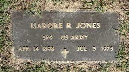 JONES (VETERAN), ISADORE R - Miller County, Arkansas | ISADORE R JONES (VETERAN) - Arkansas Gravestone Photos
