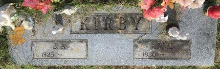 KIRBY, ADDIE  - Miller County, Arkansas | ADDIE  KIRBY - Arkansas Gravestone Photos