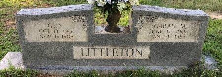LITTLETON, GUY - Miller County, Arkansas   GUY LITTLETON - Arkansas Gravestone Photos