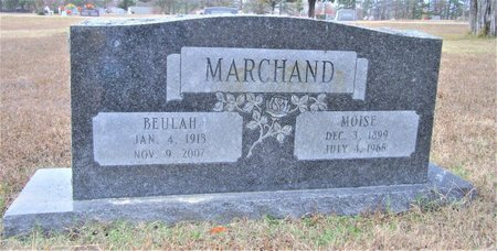 MARCHAND, MOISE - Miller County, Arkansas   MOISE MARCHAND - Arkansas Gravestone Photos