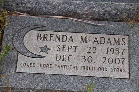 MCADAMS, BRENDA - Miller County, Arkansas | BRENDA MCADAMS - Arkansas Gravestone Photos