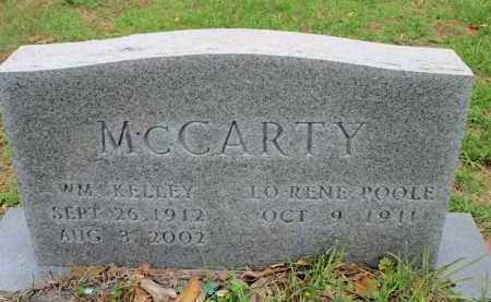 POOLE MCCARTY, LORENE - Miller County, Arkansas | LORENE POOLE MCCARTY - Arkansas Gravestone Photos