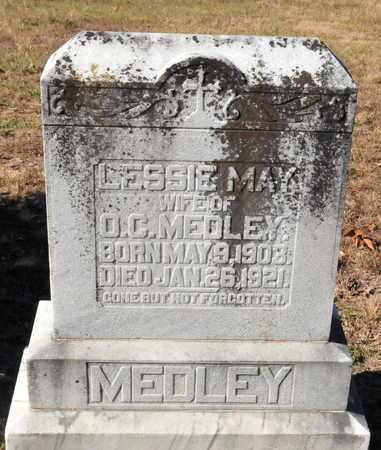 MEDLEY, LESSIE MAY - Miller County, Arkansas | LESSIE MAY MEDLEY - Arkansas Gravestone Photos