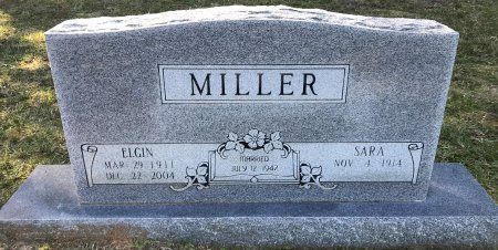 MILLER, ELGIN - Miller County, Arkansas | ELGIN MILLER - Arkansas Gravestone Photos