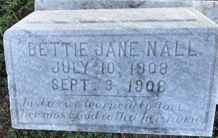 NALL, BETTY JANE - Miller County, Arkansas | BETTY JANE NALL - Arkansas Gravestone Photos
