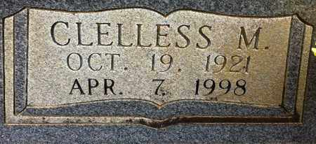 NALL, CLELLESS M (CLOSEUP) - Miller County, Arkansas | CLELLESS M (CLOSEUP) NALL - Arkansas Gravestone Photos