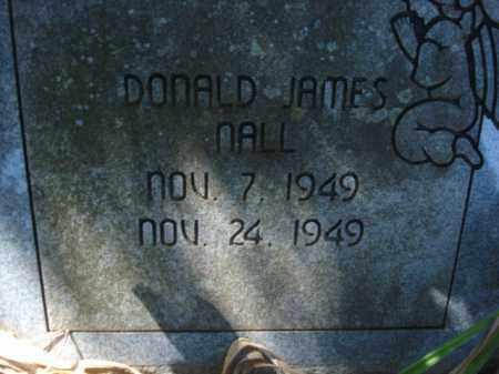 NALL, DONALD JAMES - Miller County, Arkansas   DONALD JAMES NALL - Arkansas Gravestone Photos