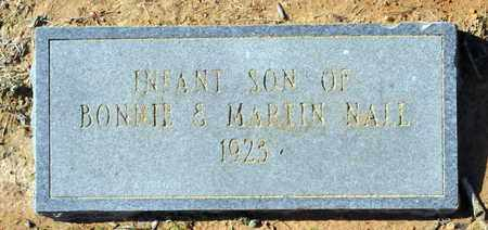 NALL, INFANT SON - Miller County, Arkansas | INFANT SON NALL - Arkansas Gravestone Photos