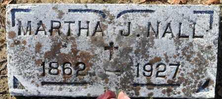 NALL, MARTHA J - Miller County, Arkansas | MARTHA J NALL - Arkansas Gravestone Photos