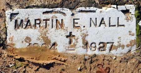 NALL, MARTIN E - Miller County, Arkansas | MARTIN E NALL - Arkansas Gravestone Photos