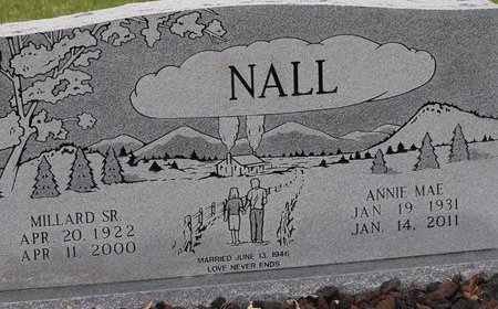 NALL, ANNIE MAE - Miller County, Arkansas | ANNIE MAE NALL - Arkansas Gravestone Photos