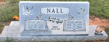 NALL, MELVIN HOLLIS - Miller County, Arkansas   MELVIN HOLLIS NALL - Arkansas Gravestone Photos