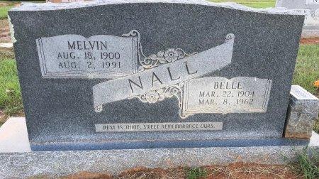 NALL, MELVIN - Miller County, Arkansas   MELVIN NALL - Arkansas Gravestone Photos
