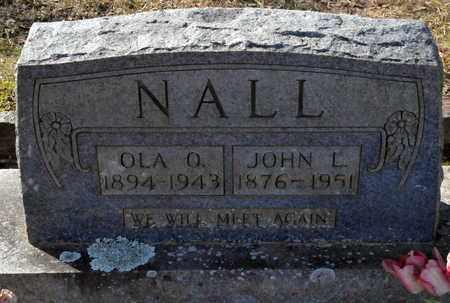 NALL, OLA O - Miller County, Arkansas | OLA O NALL - Arkansas Gravestone Photos