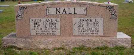NALL, FRANK E - Miller County, Arkansas | FRANK E NALL - Arkansas Gravestone Photos