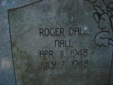 NALL, ROGER DALE - Miller County, Arkansas | ROGER DALE NALL - Arkansas Gravestone Photos