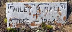 NALL, WILEY H - Miller County, Arkansas   WILEY H NALL - Arkansas Gravestone Photos