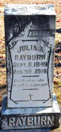 RAYBURN, JULIA A - Miller County, Arkansas | JULIA A RAYBURN - Arkansas Gravestone Photos