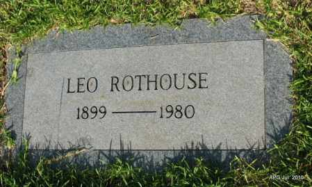 ROTHOUSE, LEO - Miller County, Arkansas | LEO ROTHOUSE - Arkansas Gravestone Photos