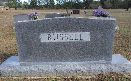 RUSSELL, FAMILY MARKER - Miller County, Arkansas   FAMILY MARKER RUSSELL - Arkansas Gravestone Photos
