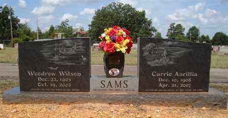 SAMS, WOODROW WILSON - Miller County, Arkansas | WOODROW WILSON SAMS - Arkansas Gravestone Photos
