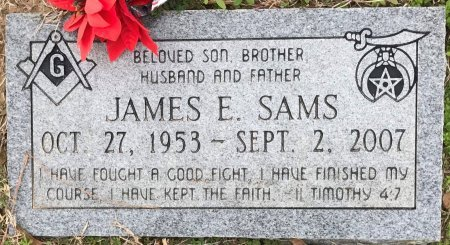 SAMS, JAMES E - Miller County, Arkansas | JAMES E SAMS - Arkansas Gravestone Photos