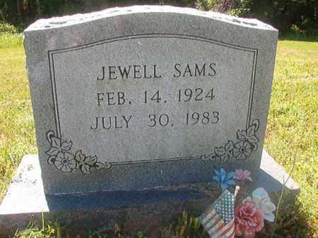 SAMS, JEWELL - Miller County, Arkansas | JEWELL SAMS - Arkansas Gravestone Photos