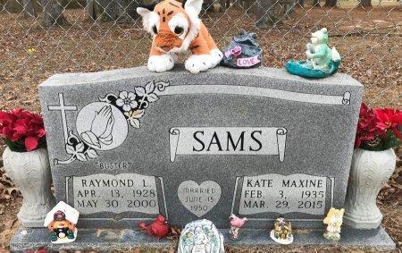 "SAMS, RAYMOND L ""BUSTER"" - Miller County, Arkansas | RAYMOND L ""BUSTER"" SAMS - Arkansas Gravestone Photos"
