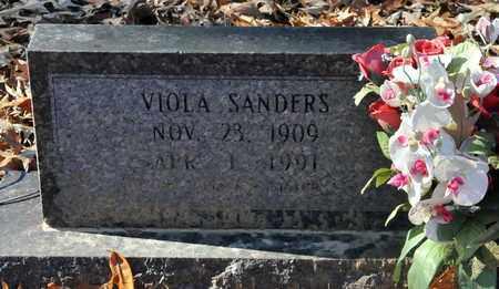 SANDERS, VIOLA - Miller County, Arkansas | VIOLA SANDERS - Arkansas Gravestone Photos