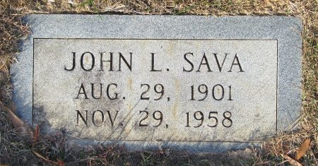SAVA, JOHN L. - Miller County, Arkansas | JOHN L. SAVA - Arkansas Gravestone Photos