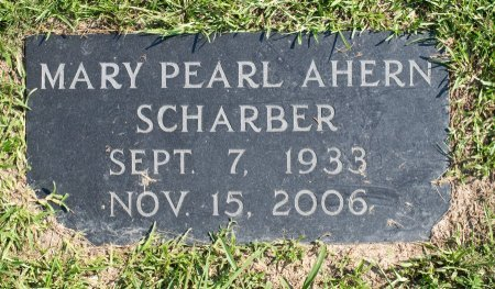 SCHARBER, MARY PEARL - Miller County, Arkansas | MARY PEARL SCHARBER - Arkansas Gravestone Photos