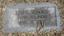 SCHOEN, LEO C. - Miller County, Arkansas | LEO C. SCHOEN - Arkansas Gravestone Photos