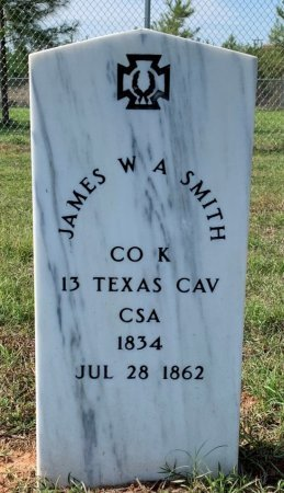 SMITH (VETERAN CSA), JAMES W A - Miller County, Arkansas | JAMES W A SMITH (VETERAN CSA) - Arkansas Gravestone Photos
