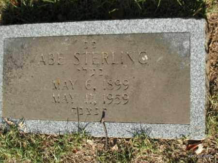 STERLING, ABE - Miller County, Arkansas | ABE STERLING - Arkansas Gravestone Photos