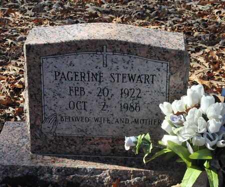 STEWART, PAGERINE - Miller County, Arkansas | PAGERINE STEWART - Arkansas Gravestone Photos