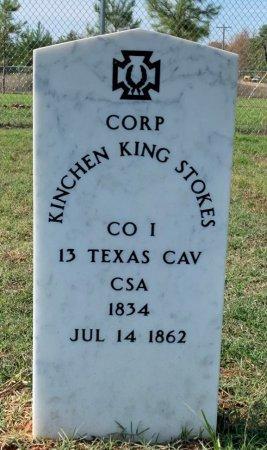 STOKES (VETERAN CSA), KINCHEN KING - Miller County, Arkansas   KINCHEN KING STOKES (VETERAN CSA) - Arkansas Gravestone Photos