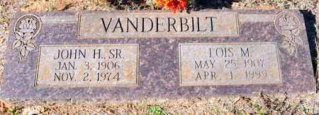 VANDERBILT, SR, JOHN H - Miller County, Arkansas | JOHN H VANDERBILT, SR - Arkansas Gravestone Photos