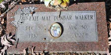 DUNBAR WALKER, EXIE MAE - Miller County, Arkansas | EXIE MAE DUNBAR WALKER - Arkansas Gravestone Photos