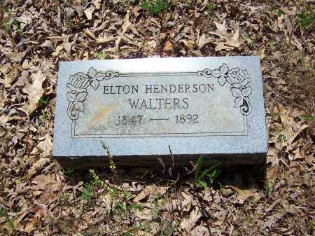 WALTERS, ELTON HENDERSON - Miller County, Arkansas | ELTON HENDERSON WALTERS - Arkansas Gravestone Photos
