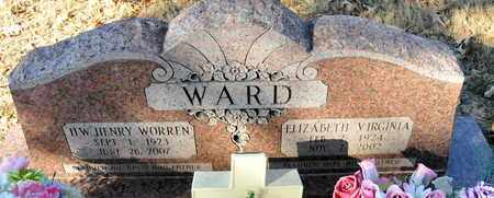 WARD, ELIZABETH VIRGINIA (2ND) - Miller County, Arkansas | ELIZABETH VIRGINIA (2ND) WARD - Arkansas Gravestone Photos