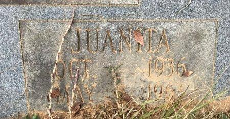 WASHINGTON, JUANITA (CLOSE UP) - Miller County, Arkansas | JUANITA (CLOSE UP) WASHINGTON - Arkansas Gravestone Photos