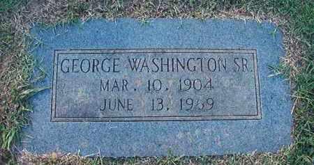 WASHINGTON, SR, GEORGE - Miller County, Arkansas | GEORGE WASHINGTON, SR - Arkansas Gravestone Photos